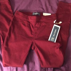 Burgundy Jeggings from Old Navy
